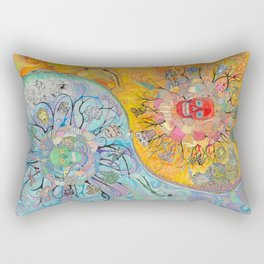 UNION, Suns and Moons Rectangular Pillow