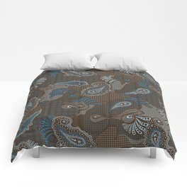 paisley DECO syndrone Comforters