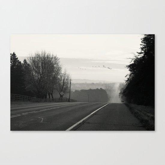 Foggy Migration Canvas Print