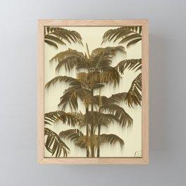 Palms spring Framed Mini Art Print