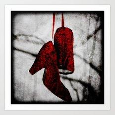 Ruby Slippers Art Print