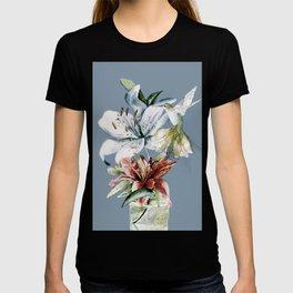 Hummingbird with Flowers T-shirt