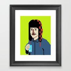 Self-8bit Framed Art Print