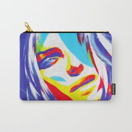Trice/Blue Carry-All Pouch