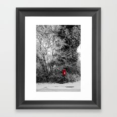 {Christmas Post} Framed Art Print