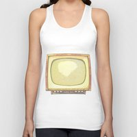 tv Tank Tops featuring Television* by Mr & Mrs Quirynen