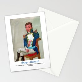 Belgrano de militar por Diego Manuel. Stationery Cards