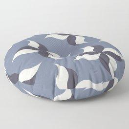 Pinwheels in Lavender Floor Pillow