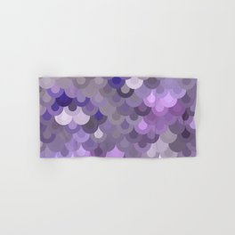 Purple Scales Hand & Bath Towel