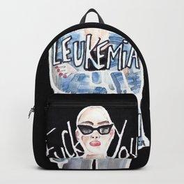 FUCK YOU, LEUKEMIA. I WIN. Backpack