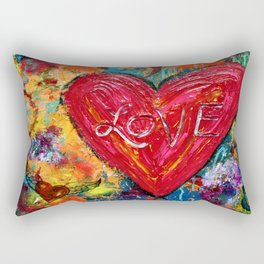 Big Love Rectangular Pillow