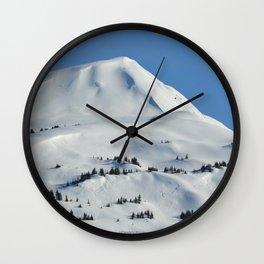 Back-Country Skiing  - VI Wall Clock