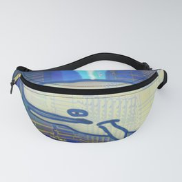Cachalote in Atlantis 03-08-16 Fanny Pack