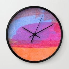 Abstract No. 610 Wall Clock