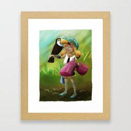 Toucan Toco Framed Art Print