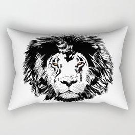 Male Lion 1 Rectangular Pillow