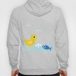 Duck and fish Hoody