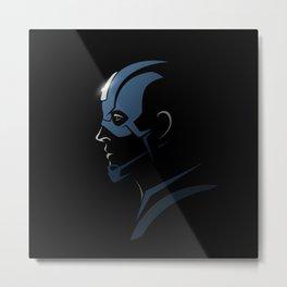 Half-face - Captain A. - Avenger Metal Print