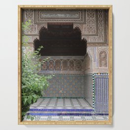 Doorways of Morocco Serving Tray