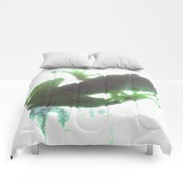 green tree frog Comforters