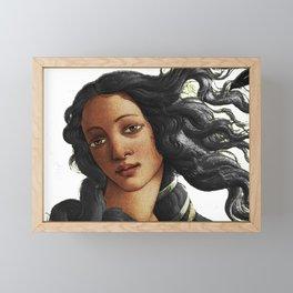 Botticelli American Venus Framed Mini Art Print