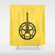 Le Tour de France Shower Curtain