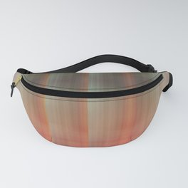 Abstract pattern pink and grey Fanny Pack
