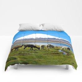 Chungara Lake, Chile Comforters