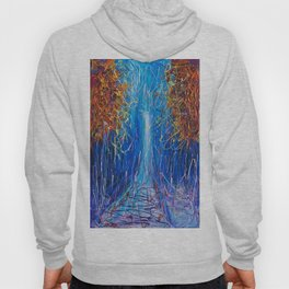 Impressionist Autumn -  ( inspired by Pollock ) Hoody