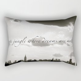Now Your in New York, New York, New York  Rectangular Pillow
