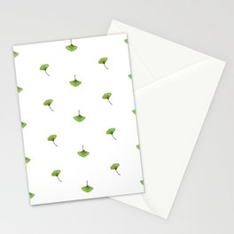 Ginkgo Leaf (Mini) - White Stationery Cards
