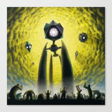 Utkin - Steel God Creation Canvas Print