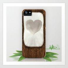 Coconut Love Art Print