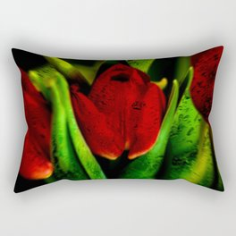 Concept flora : The red queen Rectangular Pillow