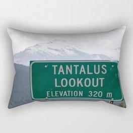 Tantalus Lookout Rectangular Pillow