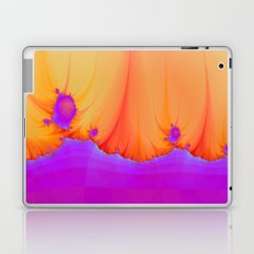 Alien Landscape in pink and Orange Laptop & iPad Skin