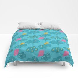 kites - blue Comforters