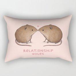 Relationship Voles Rectangular Pillow