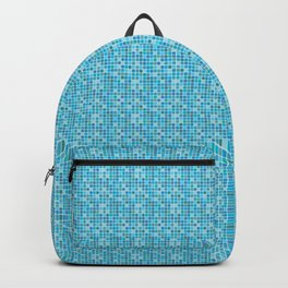 Pool Pattern Background Backpack