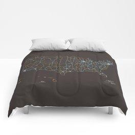 US Highways Comforters