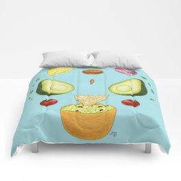 Avocado Mandala Comforters