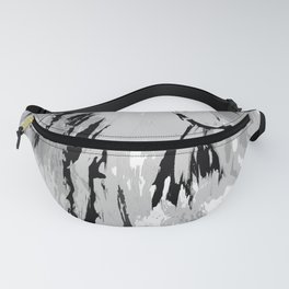 HORSE BLACK AND WHITE Fanny Pack