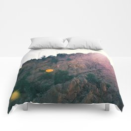 Sunshine on the Rocks Comforters