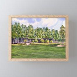 Pinehurst Golf Course No2 Hole 17 Framed Mini Art Print