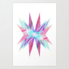 Triangles #5 Art Print