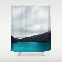 The Waters And The Wild Shower Curtain