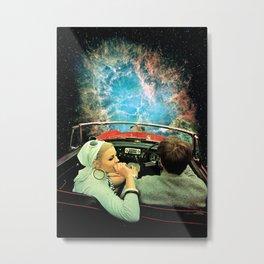 Space Riders Metal Print