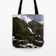 Norwegian Waterfalls Tote Bag