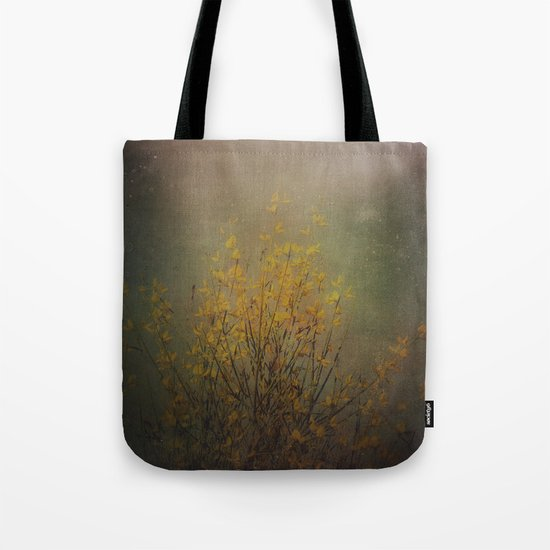 Vintage flowering bloom Tote Bag