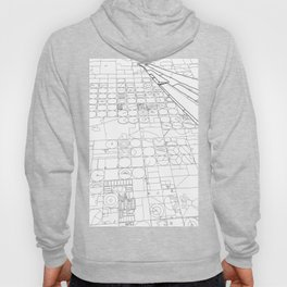 Texas from the Sky - Line Art Hoody